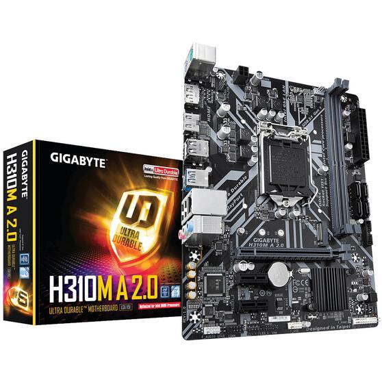 Материнская плата Gigabyte LGA1151 Intel H310 H310M A 2.0