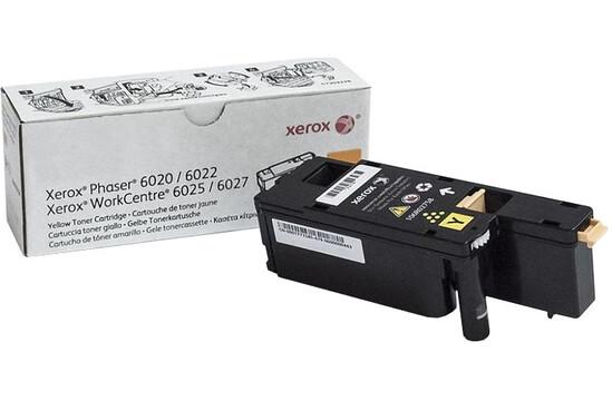 Фото товара Phaser 6020,6022/WorkCentre 6025,6027, желтый тонер-картридж стандартной емкости