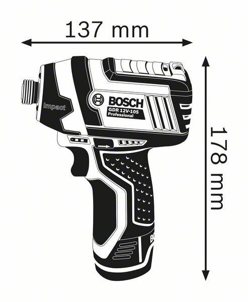 Ударный гайковерт Bosch GDR 12V-105
