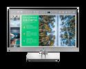 Монитор HP Inc. E243 23.8'' серебристый