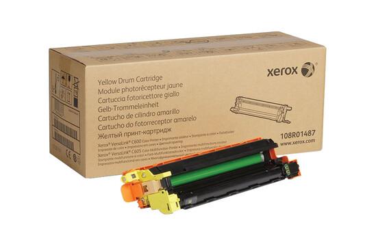 Фото товара VersaLink C600/C605, желтый принт-картридж