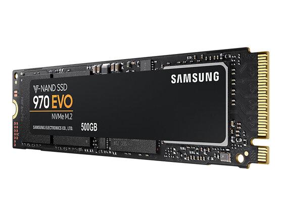 Внутренний SSD Samsung 970 EVO 500GB