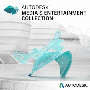 Autodesk Media and Entertainment Collection (электронная версия, GEN), сетевая лицензия на 1 год, 02KI1-WWN582-T861