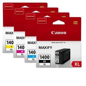 Картридж черный, голубой, пурпурный, желтый Canon PGI-1400XL, 9185B004