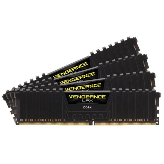 Оперативная память Corsair Desktop DDR4 3600МГц 4x16Gb, CMK64GX4M4B3600C18, RTL