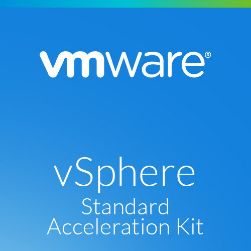 VMware vSphere 7 Standard Acceleration Kit for 6 processors