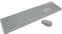 Клавиатура+мышь Microsoft Corporation Wireless Desktop QHG-00041, цвет серый