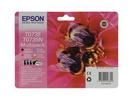 Комплект картриджей черный, голубой, пурпурный, желтый Epson C13T10554A10