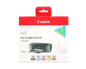 Картридж черный, голубой, пурпурный, желтый, красный Canon PGI-72, 6402B009