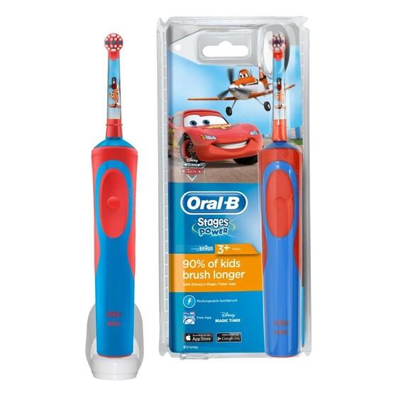 Электрические зубные щетки Oral-B Stages Power Cars