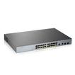 Купить GS1350-26HP L2 коммутатор PoE+ для IP-видеокамер Zyxel GS1350-26HP, rack 19 , 24xGE PoE+, 2xCombo (SFP/RJ-45),
