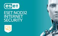 ESET NOD32 Internet Security (продление EKEY), на 1 год на 3ПК
