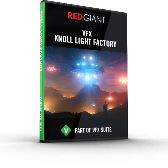 Red Giant Software Red Giant VFX Knoll Light Factory (коммерческая лицензия), VFX-KLF-F