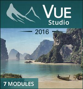 e-on Software Vue Pro Studio (перекрестное обновление), VUE Studio 2016 - VUE Esprit 2015 Sidegrade