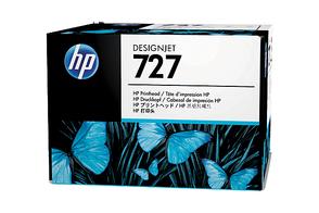 Печатающая головка черный, серый, пурпурный, желтый, голубой HP Inc. 727, B3P06A