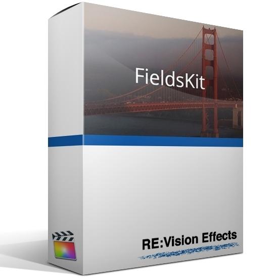RE:Vision Effects, Inc. FieldsKit v3 (обновление лицензии GUI), с версии pre-v3 до версии v3, GUI, RSFK3U