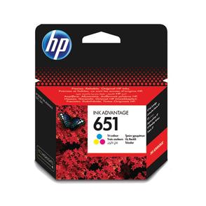 Картридж пурпурный, желтый, голубой HP Inc. 651, C2P11AE
