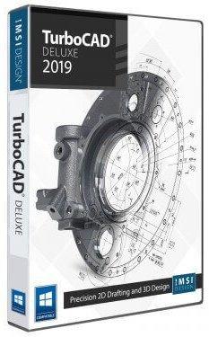 IMSI/Design, LLC IMSI/Design TurboCAD Deluxe (лицензия), стоимость 1 лицензии версии 2019 1-9, 00TCD525XX