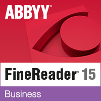 ABBYY FineReader 15 Business (лицензия Full, Standalone)