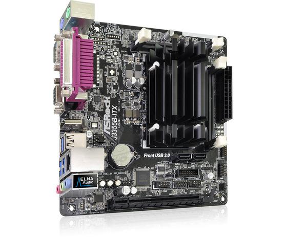Материнская плата ASRock Onboard CPU J3355B-ITX