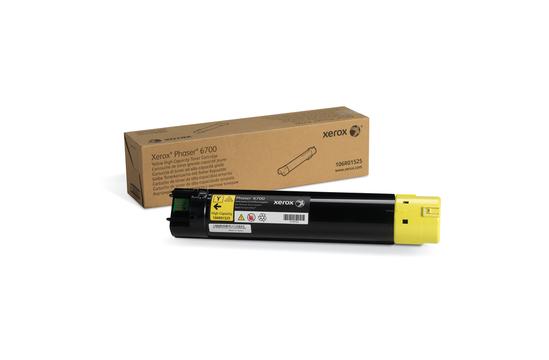 Phaser 6700, желтый тонер-картридж повышенной емкости