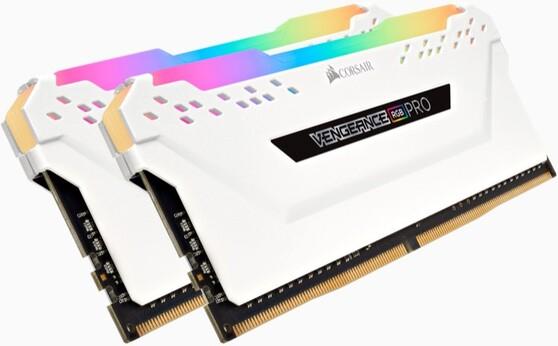 Оперативная память Corsair Desktop DDR4 3000МГц 2x16GB, CMW32GX4M2C3000C15W, RTL