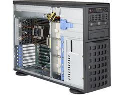Серверная платформа Supermicro SuperServer 4U 7049P-TRT noCPU(2)Scalable<wbr/>/TDP 70-205W<wbr/>/ no DIMM(16)<wbr/>/ SATARAID HDD(8)LFF<wbr/>/ 2x10GbE<wbr/>/ 6xFH, M2<wbr/>/ 2x1280W