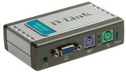 D-Link Переключатель 2-port KVM Switch (KVM-121) фото