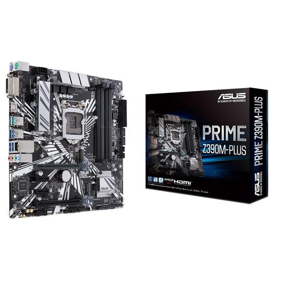 Материнская плата ASUS Intel Z390 PRIME Z390M-PLUS