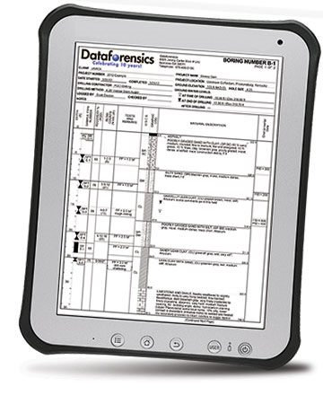 RockWare pLog Tablet