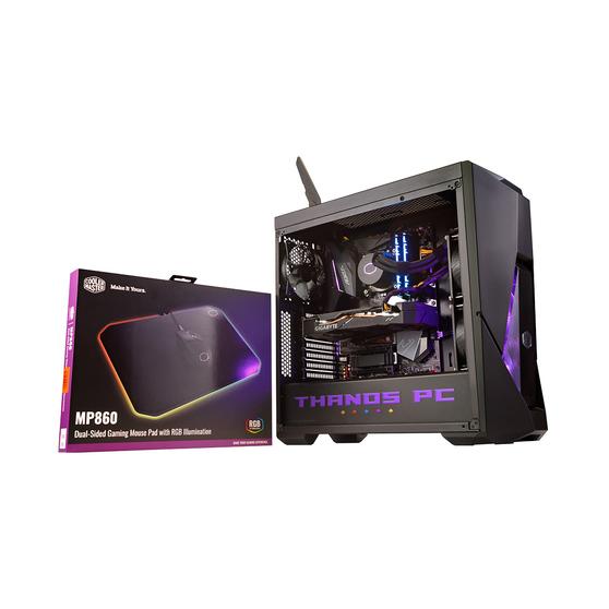 Игровой компьютер SLComputers  THANOS PC, SL THANOS PC + Cooler Master RGB Mousepad В ПОДАРОК!