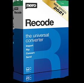 Nero Recode 2021