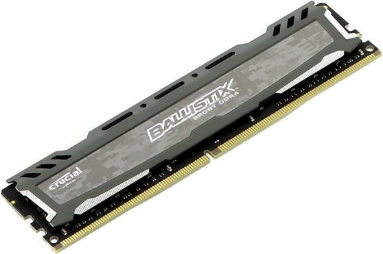 Оперативная память Crucial Desktop DDR4 2400МГц 16GB, BLS16G4D240FSB