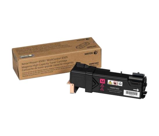 Phaser 6500/WorkCentre 6505, пурпурный тонер-картридж повышенной емкости