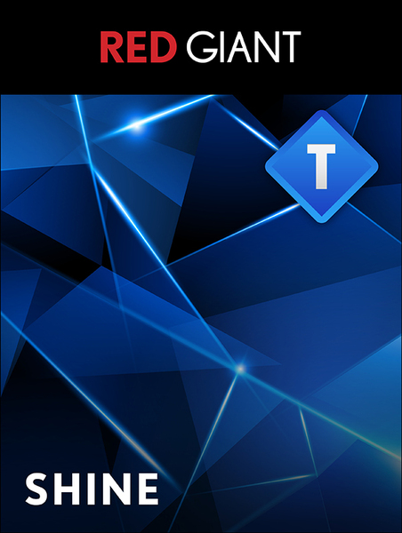 Red Giant Software Trapcode Shine (Plug-in, академическая версия), TCD-SHINE-A