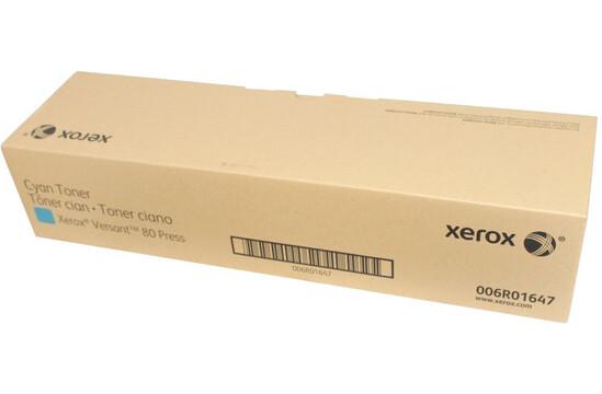 Фото товара Тонер-картридж для ЦПМ Xerox Versant 80/180, голубой цвет