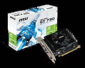 Видеокарта MSI GeForce GT 730 2 ΓБ Retail