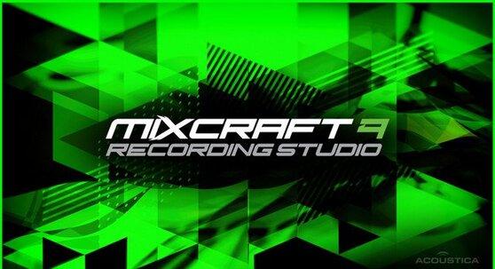 Acoustica, Inc. Mixcraft Recording Studio (версия 9 для коммерческих организаций), стоимость 1 лицензии, AC-90REC-SL25-49