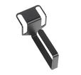 Купить Кабельный органайзер Горизонтальный ЦМО СБ-Б-9005 односторонний кольца 1U глуб.:93мм