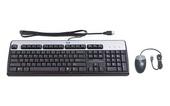 Клавиатура+мышь HP Inc. USB Keyboard 638214-B21, цвет черный фото
