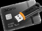 Аладдин Р.Д. JaCarta (USB-токен JaCarta-2 PRO/ГОСТ), Сертификат ФСТЭК России. Сертификат ФСБ России. до 500 шт. (за