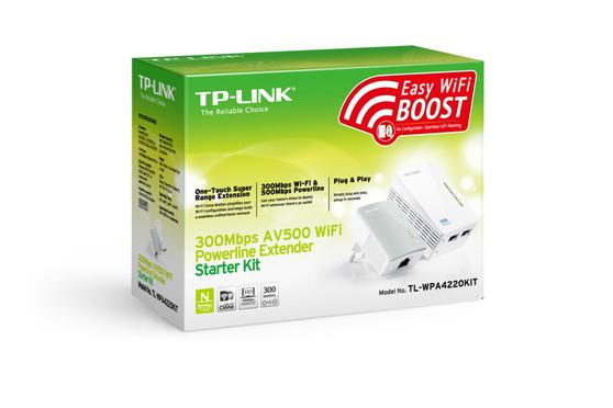 Адаптер PowerLine TP-LINK TL-WPA4220KIT