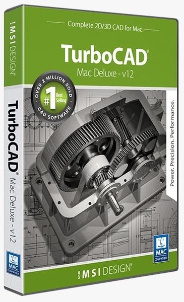 IMSI/Design, LLC TurboCAD Macintosh Deluxe 2D/3D v12 (лицензии), стоимость 1 лицензии, 00TC3M12XX