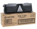 Тонер-картридж черный Kyocera TK-130