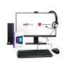 """Комплект ПК SL Office Remote A1 Компьютер + Монитор 23,8"""" + Веб-камера + Гарнитура + Клавиатура + Мышь + WIN 10 PRO"""