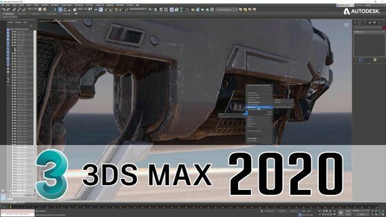 Autodesk 3ds Max 2020 (электронная версия), сетевая лицензия на 3 года