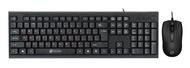 Клавиатура+мышь Oklick KB+M 630M, цвет черный