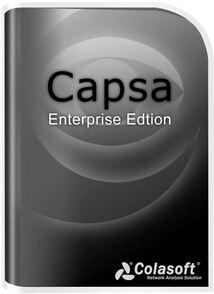 Colasoft Capsa (бессрочная лицензия Enterprise с техподдержкой на 1 год), на 1 рабочее место, CEN0002