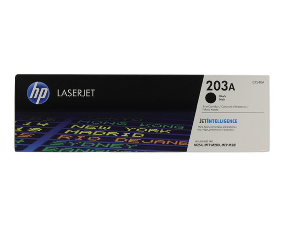 Тонер-картридж черный HP Inc. 203A, CF540A