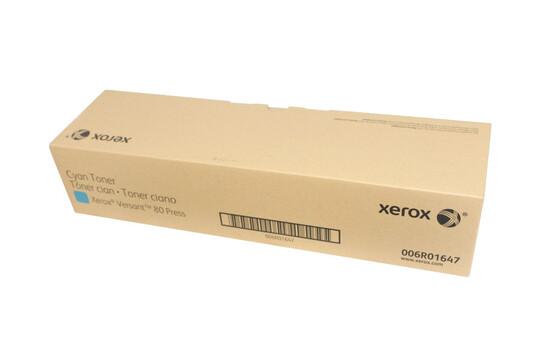 Тонер-картридж для ЦПМ Xerox Versant 80/180, голубой цвет
